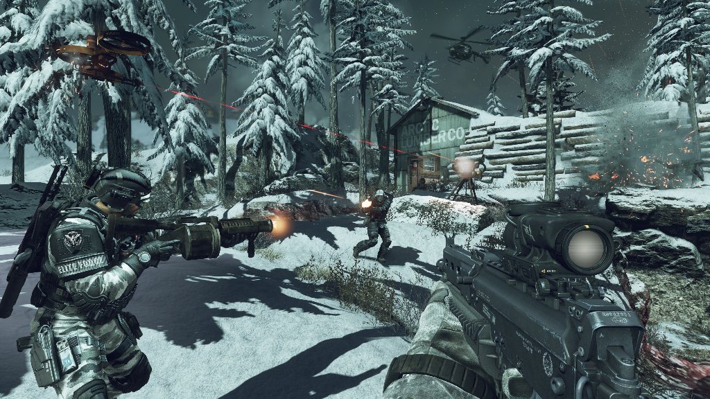 codg2 Review: Call of Duty Ghosts   Eine veränderte Welt im Test