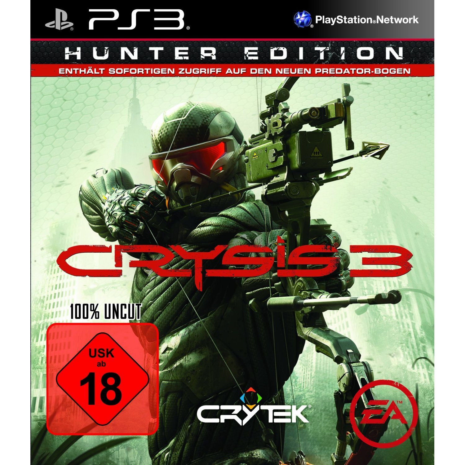 Crysis 3 Hunter Edition Crysis 3   Packshot zur Hunter Edition