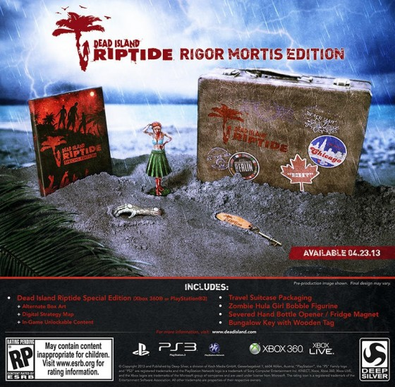Dead Island Rigor Mortis CE Dead Island: Riptide   Rigor Mortis Collectors Edition angekündigt
