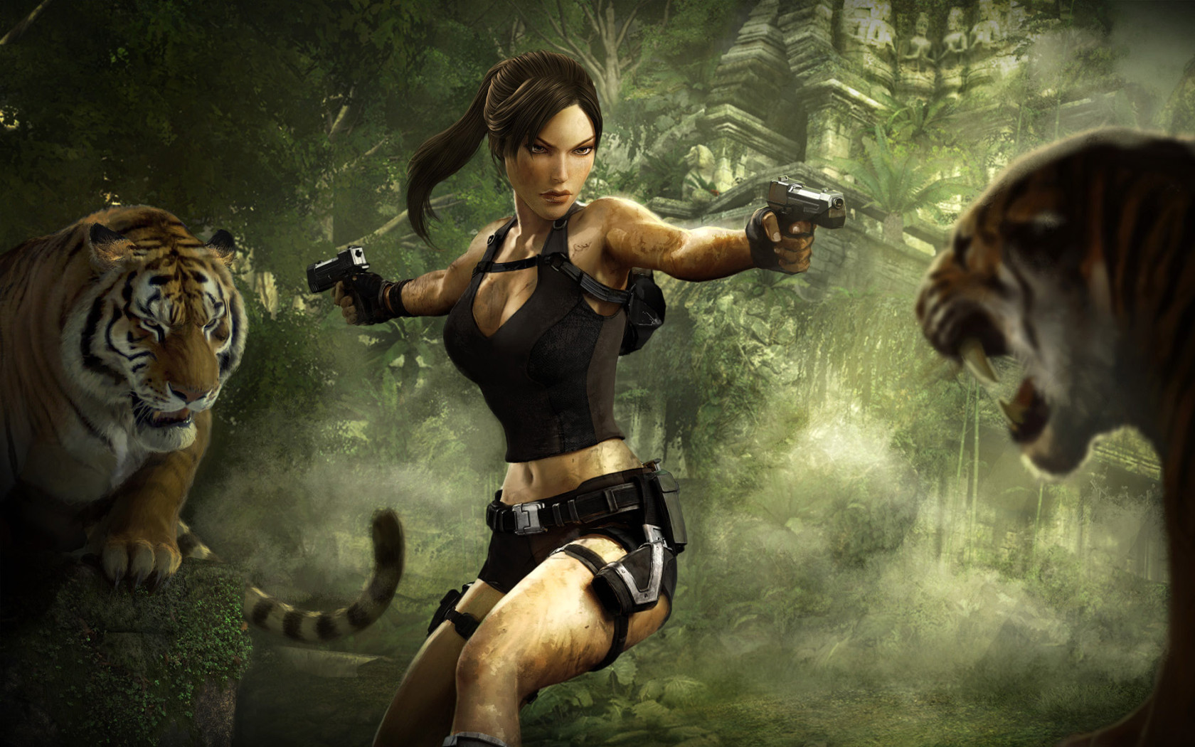 Lara Croft Bist Du ein Grafik Freak? Versuch 3D Slots!