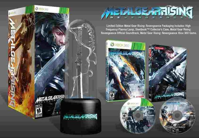 Medal Gear Rising Limited Edition Metal Gear Rising: Revengeance   Die Inhalte der Limited Edition
