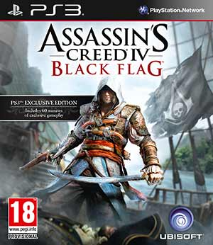 Assassins Creed IV Black Flag Packshot Ubisoft bestätigt Assassin's Creed IV Black Flag & exklusive Inhalte für PS3