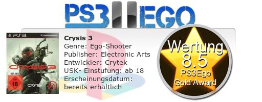Crysis 3 Review Bewertung 8.5 Review: Crysis 3 im Test   Open World im Großstadt Dschungel?