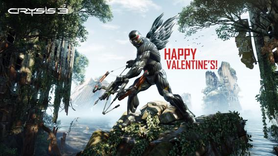 Crysis 3 Valentine 568x320 Crysis 3: Eine Nachricht von Prophet zum Valentinstag