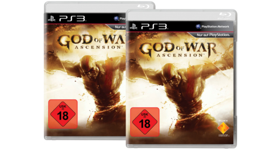 God of War Ascencion Gewinnspiel GEWINNSPIEL: 2x God of War Ascension inkl. PS3 Skin abstauben