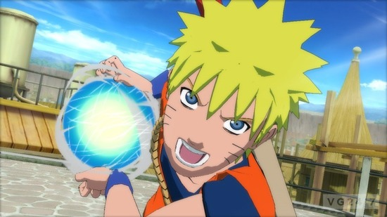 Naruto Shippuden Ultimate Ninja Storm 3 Goku Screenshots 1 Naruto Shippuuden Ultimate Ninja Storm 3   Bilder zeigen Son Goku Anzug