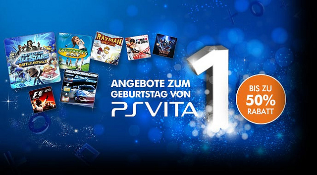 PlayStation Vita Geburtstag PlayStation Vita: Geburtstagsangebote ab heute verfügbar