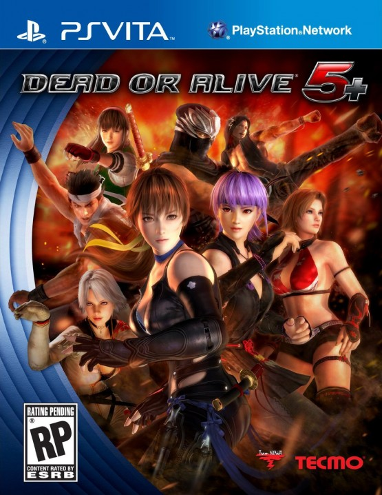 dead or alive 5 plus boxart Dead or Alive 5 Plus: Offizielles Cover gesichtet