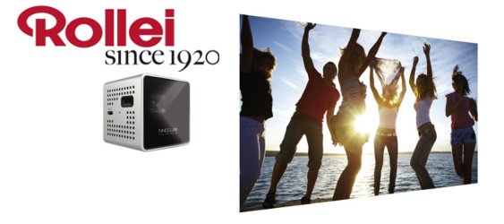 Rollei Review: Innocube IC200T Pico Projektor im Test