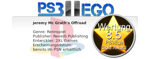 jeremy Mc Graths Review Bewertung 8.5 Review: Jeremy McGrath's Offroad   Der Fun Racer im Test