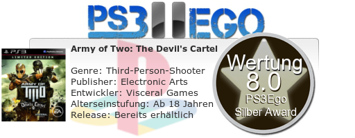 Army of Two The Devils Cartel Review Bewertung 8.0 Review: Army of Two The Devils Cartel im Test   Auf nach Mexiko