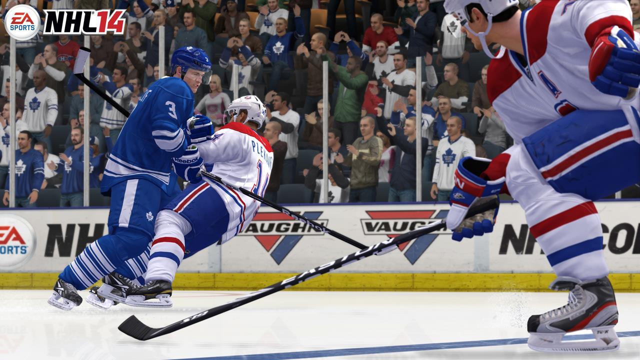 NHL 14 02 Review: NHL 14 im Test   Schlitterpartie mit Folgen