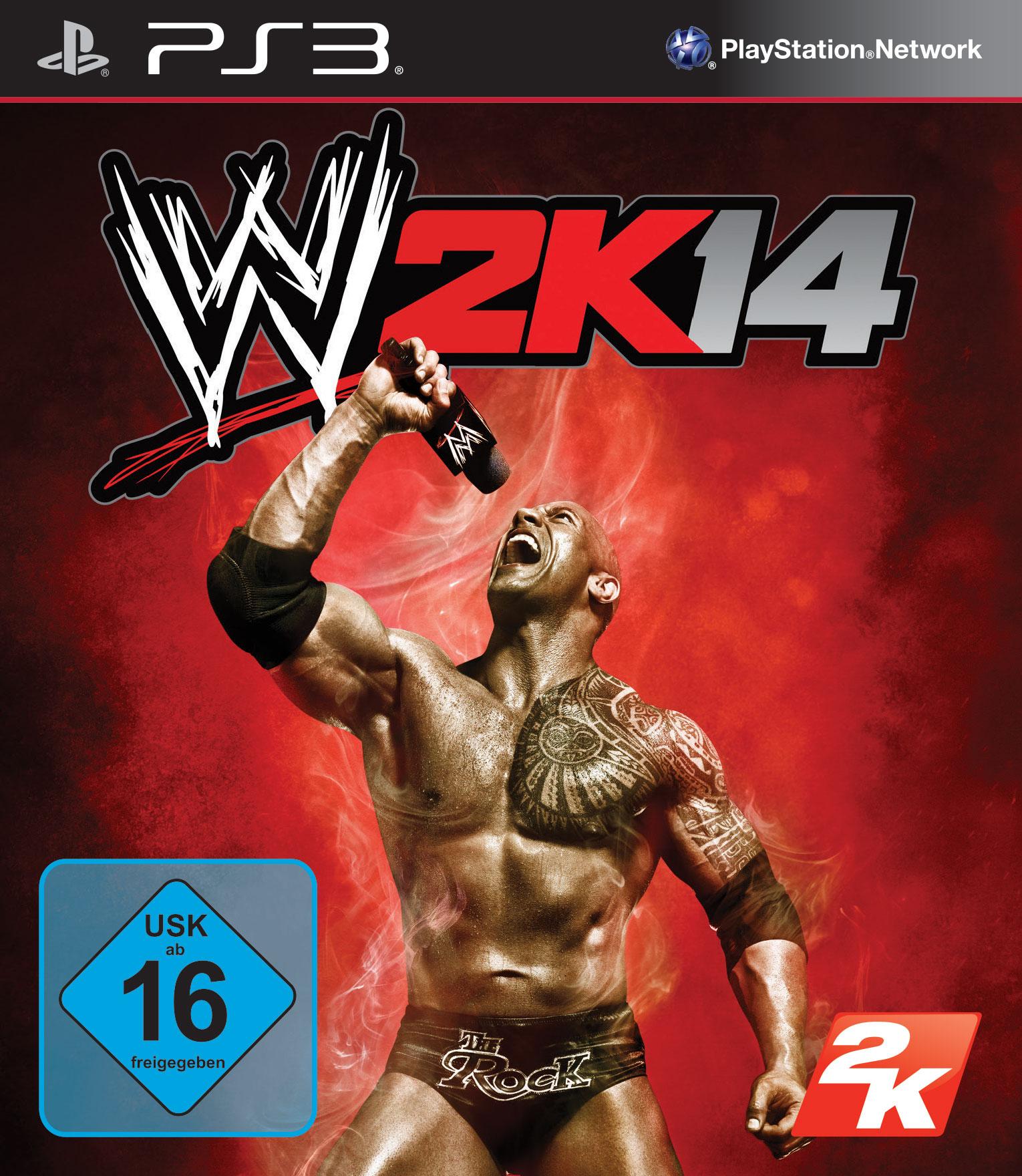 WWE 2K14 PS3 Packshot WWE 2K14   Ab heute im Handel erhältlich