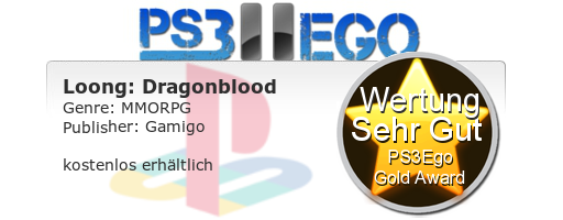 Loong Dragonblood Review Bewertung 8.5 Review: Loong Dragonblood   Free 2 Play MMORPG im Test