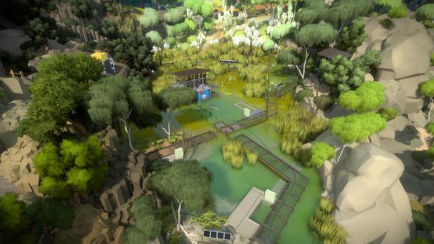 The Witness Screenshot 01 The Witness: Neue Infos zum PS4 Puzzle   Spielzeit und Entwicklungsprozess