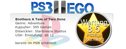 Brothers A Tale of Two Sons Review Bewertung 8.5 Review: Brothers A Tale of Two Sons   Die Reise der Brüder im Test