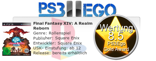 Final Fantasy IV A Realm Reborn Review Bewertung 8.5 Review: Final Fantasy XIV: A Realm Reborn   Das MMORPG im Test