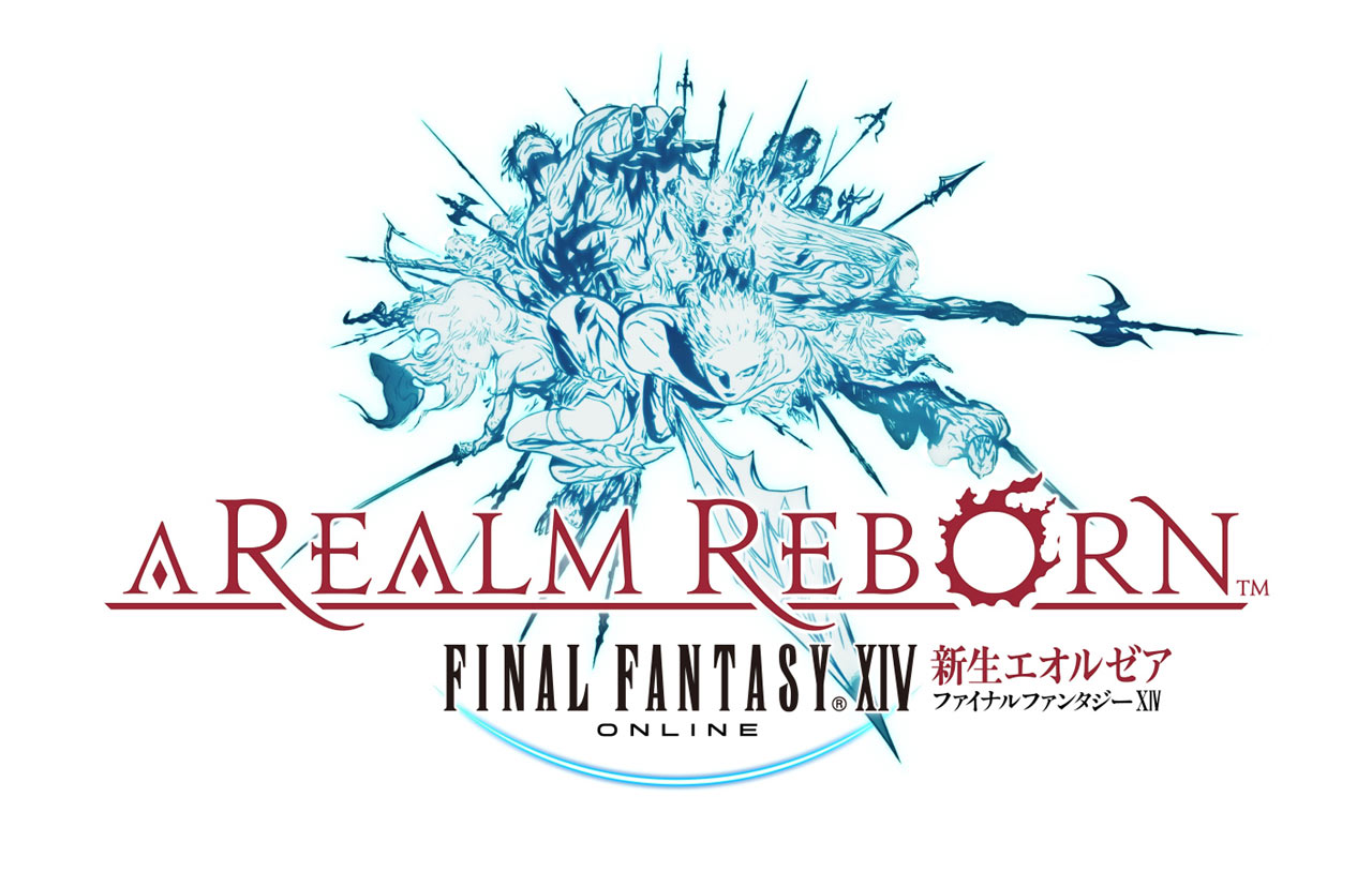 Final Fantasy XIV A Realm Reborn Logo Final Fantasy XIV: A Realm Reborn   PS4 Beta Termin & kostenloses Upgrade zur PS4 Version