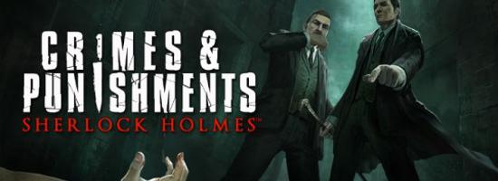 Sherlock Holmes Crimes Punishments Banner Sherlock Holmes: Crimes & Punishments   PS4 Release am 30. September 2014