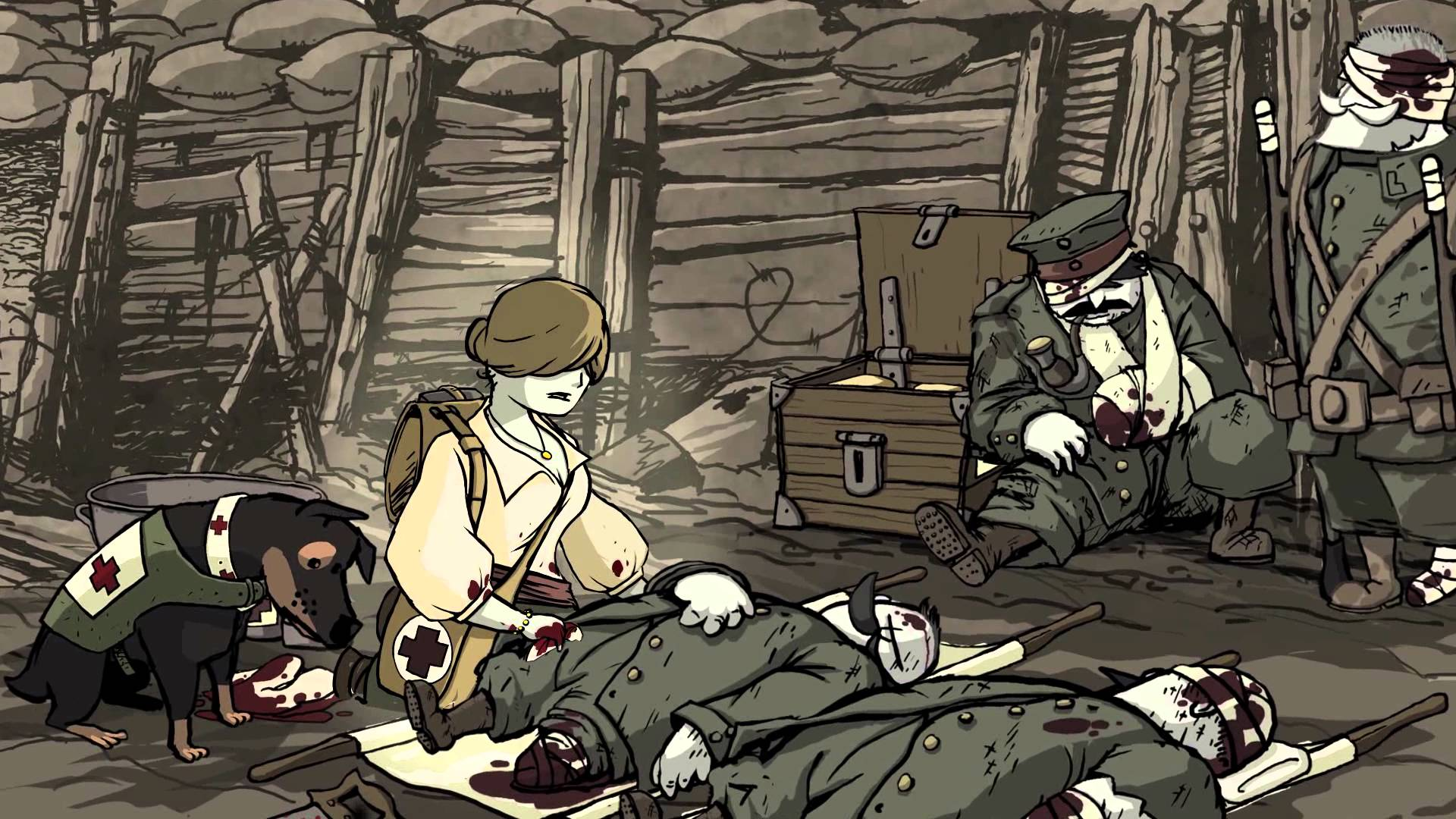 Valiant Hearts The Great War Screen Valiant Hearts: The Great War   Review Round Up