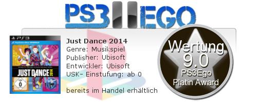 Just Dance 2014 Review Bewertung 9.0 Review: Just Dance 2014 im schweißtreibenden Test