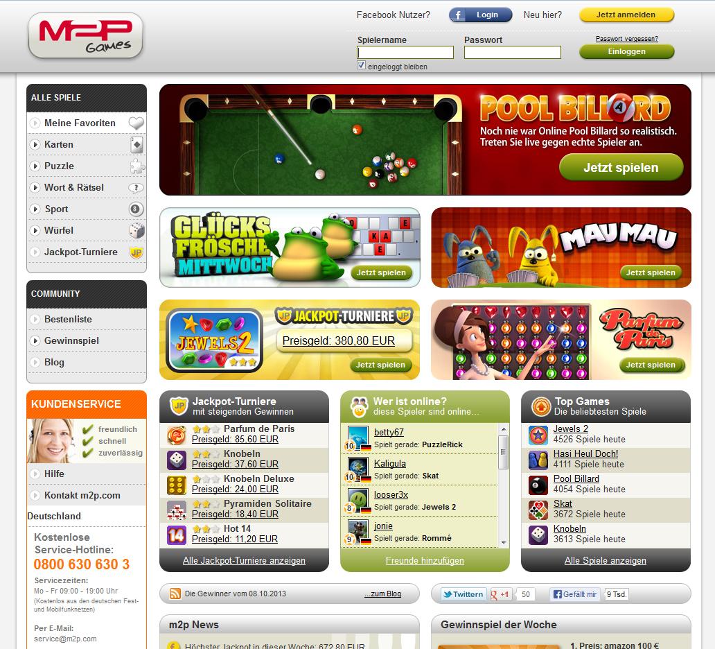 M2P Games Screenshot 2 PSN offline? Prüfe dein Geschick bei Skillgames
