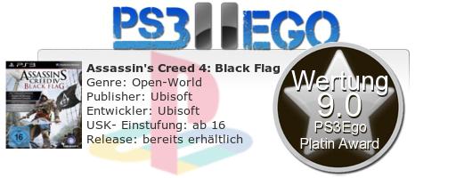 AC4 Black Flag Review Bewertung 9.0 Review: Assassins Creed 4: Black Flag   Das Piratenabenteuer im Test