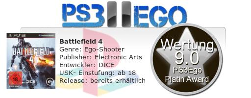 Battlefield 4 Review Bewertung 9.0 Review: Battlefield 4   Der Action Kracher bei uns im Test