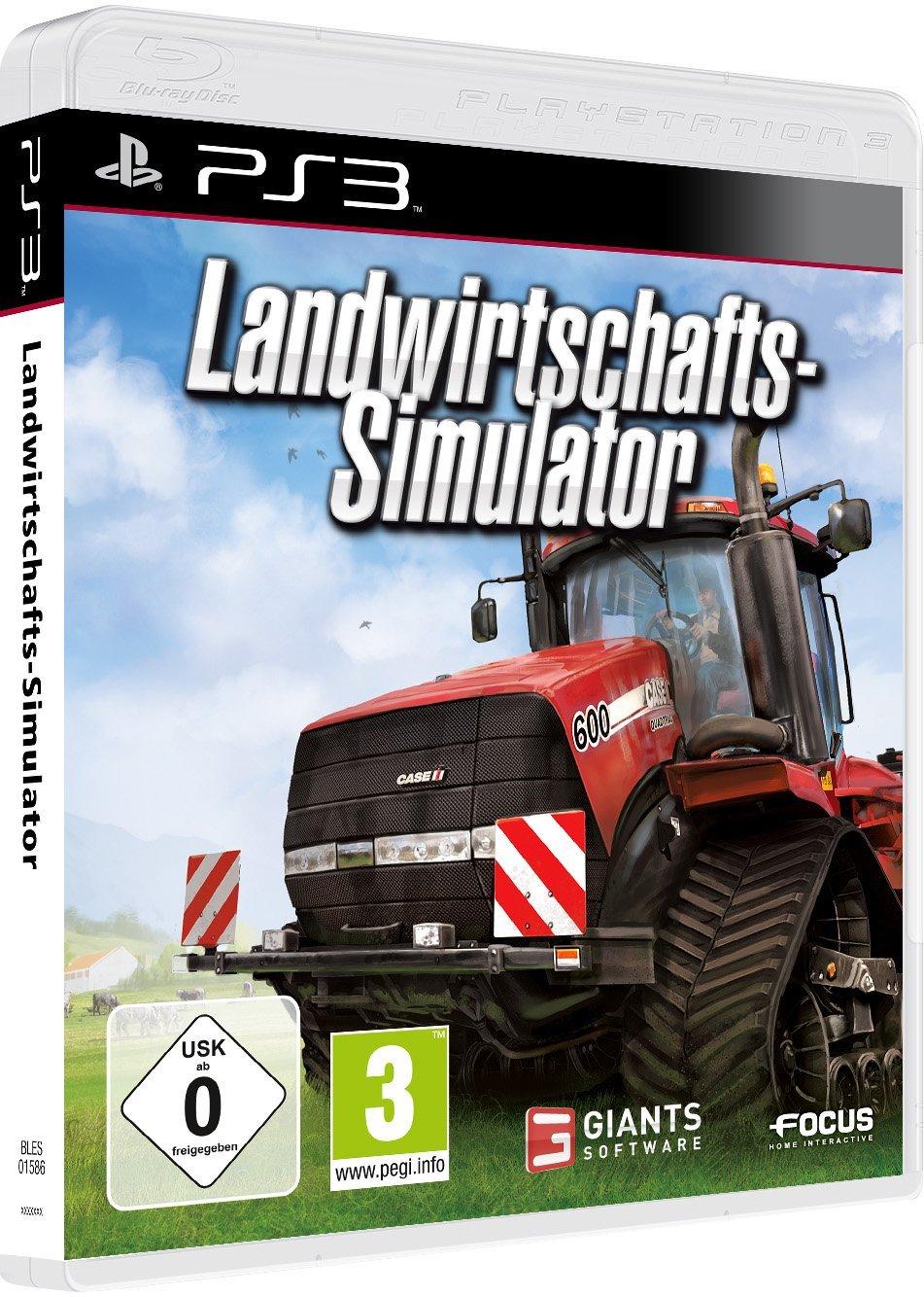 Landwirtschafts-Simulator Packshot