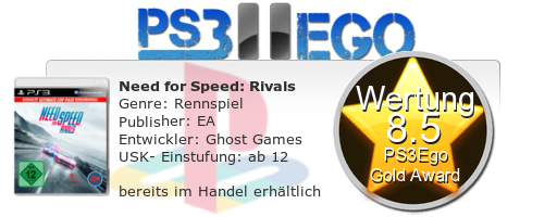 Need for Speed Rivals Review Bewertung 8.5 Review: Need for Speed: Rivals   Der Straßenkampf bei uns im Test