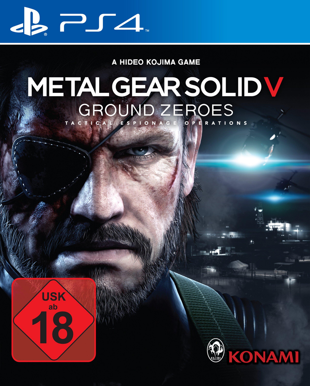 MGS GZ PS4 packshot RGB USK Metal Gear Solid V: Ground Zeroes   Erscheint Uncut mit USK Altersfreigabe Ab 18 (Update   Videovergleich)