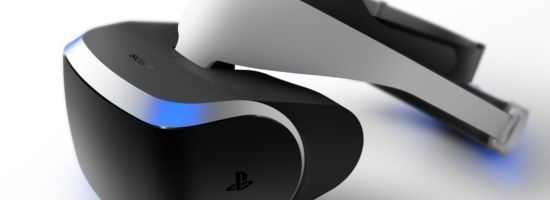 Project Morpheus Virtual Reality Brille Banner Die grenzenlose Welt der PS4