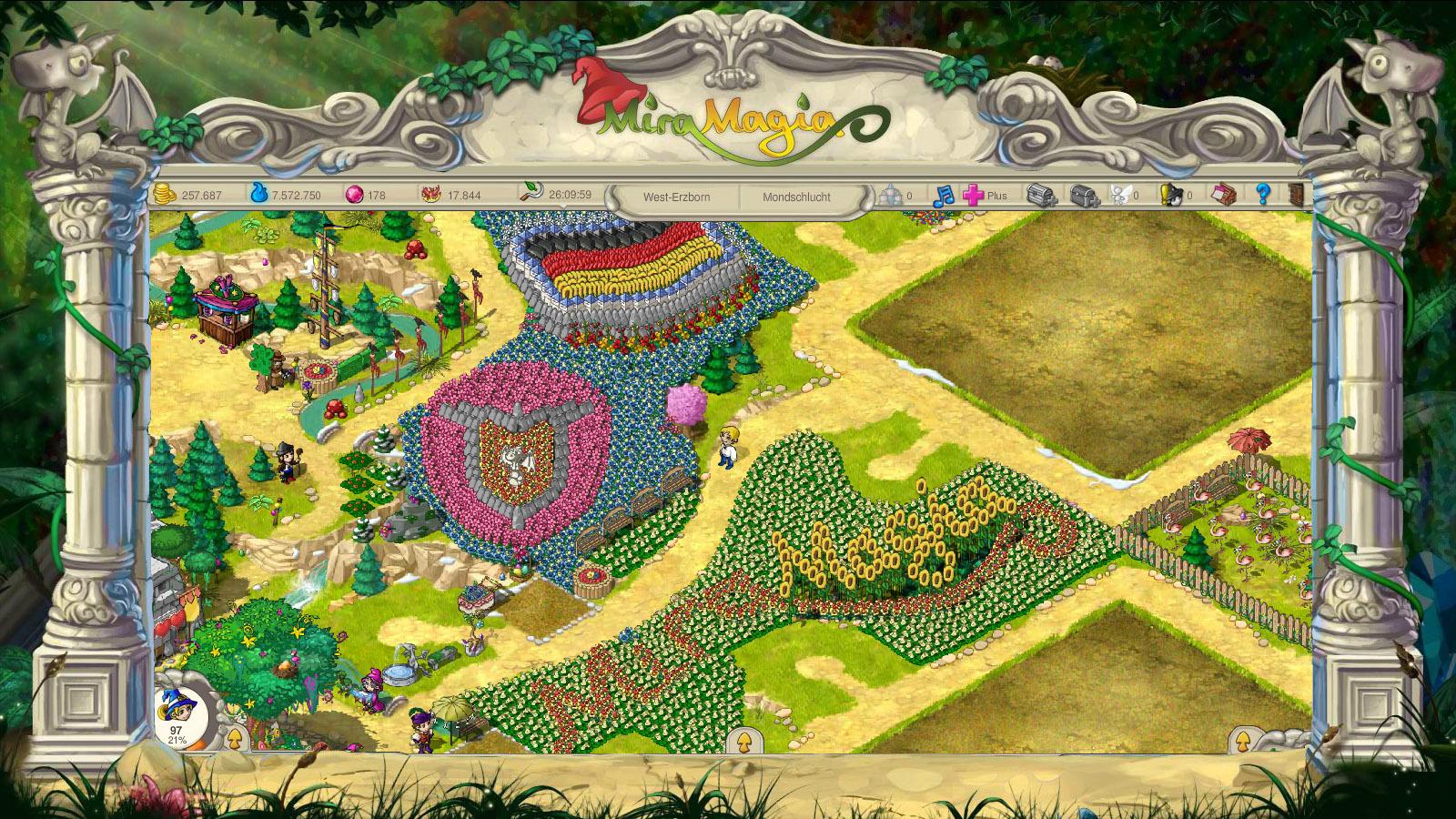 Miramagia Screenshot 01 Miramagia   Das nächste große Browsergame für Magie Farmer