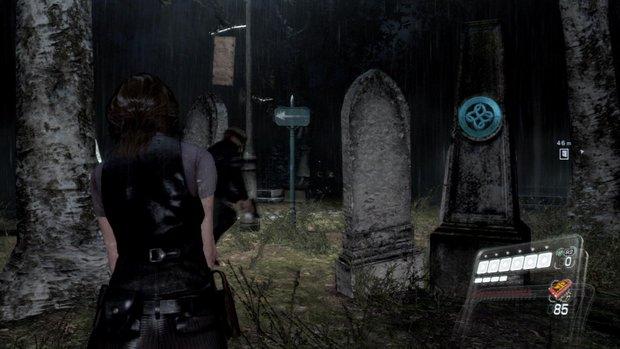 Resident Evil Friedhof Grabmale Resident Evil, Silent Hill und Co.   Horror Genre am Aussterben?