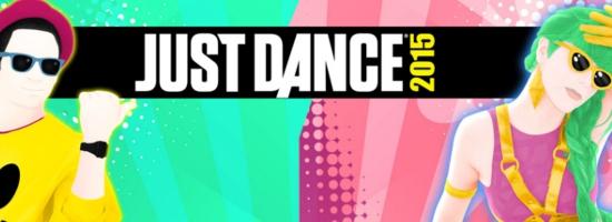 Just Dance 2015 Banner Just Dance 2015   Die neuesten Hits von Miley Cyrus, Becky G, One Direction